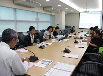 ประชุมคณะกรรมการดำเนินงานตาม Concept ภารกิจพิเศษ (Special Mission) ครั้งที่ 1