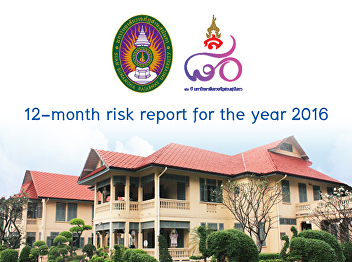 12-month risk report for the year 2016