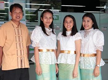 ประกวดการแต่งกายด้วยผ้าไทย