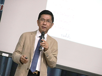 ประชุมบุคลากรเพื่อมอบนโยบายและแนวทางการขับเคลื่อนมหาวิทยาลัย2562