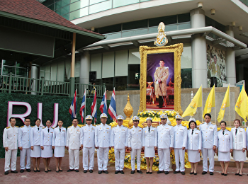 SSRU felicitate to celebrate The Royal Coronation Ceremony of King Rama X