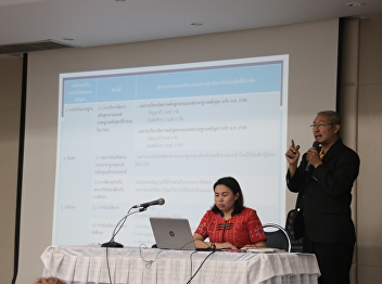 Clarify IQA academic year 2561 meeting