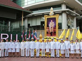SSRU felicitate to celebrate The Royal Coronation Ceremony of King Rama X