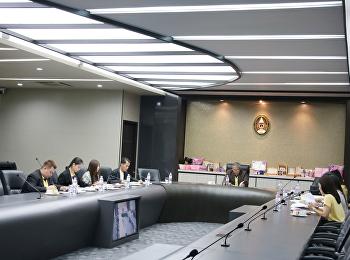 ประชุมคณะกรรมการพิจารณาและกลั่นกรองFast Track และAgenda