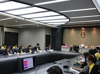 ประชุมคณะกรรมการประกันคุณภาพการศึกษาภายใน ประจำปีการศึกษา 2561 ครั้งที่ 3
