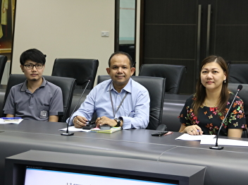 Meeting to Clarified guidelines for SSRU KM SHARE & LEARN 2019 poster exhibition