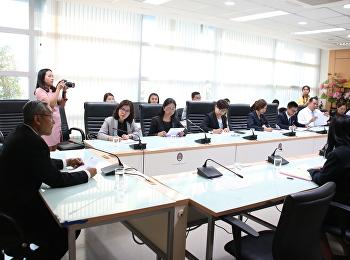 ประชุมเตรียมความพร้อมพัฒนานักศึกษาสู่ท้องถิ่น