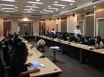 ประชุมชี้แจงแนวทางการรวบรวมข้อมูลผู้มีส่วนได้ส่วนเสียภายนอก(EIT)63