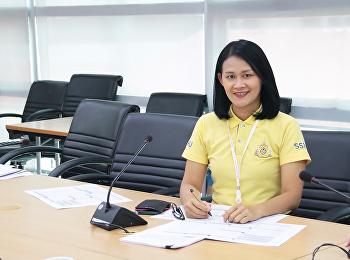 ประชุมพิจารณาแบบฟอร์มการเก็บข้อมูลตัวชี้วัดการปฏิบัติราชการ64