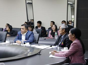 ประชุมชี้แจงแนวทางการควบรวมหน่วยงานและจั้ดตั้งใหม่