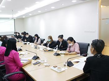 ประชุมชี้แจงการติดตามประเมินผลการปฏิบัติราชการสำหรับวิทยาลัยใหม่